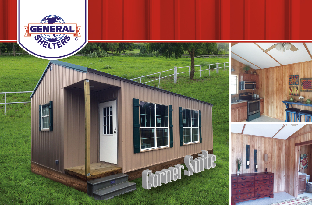 Cabins tiny houses txport cabins texas portable for Homes with in law units